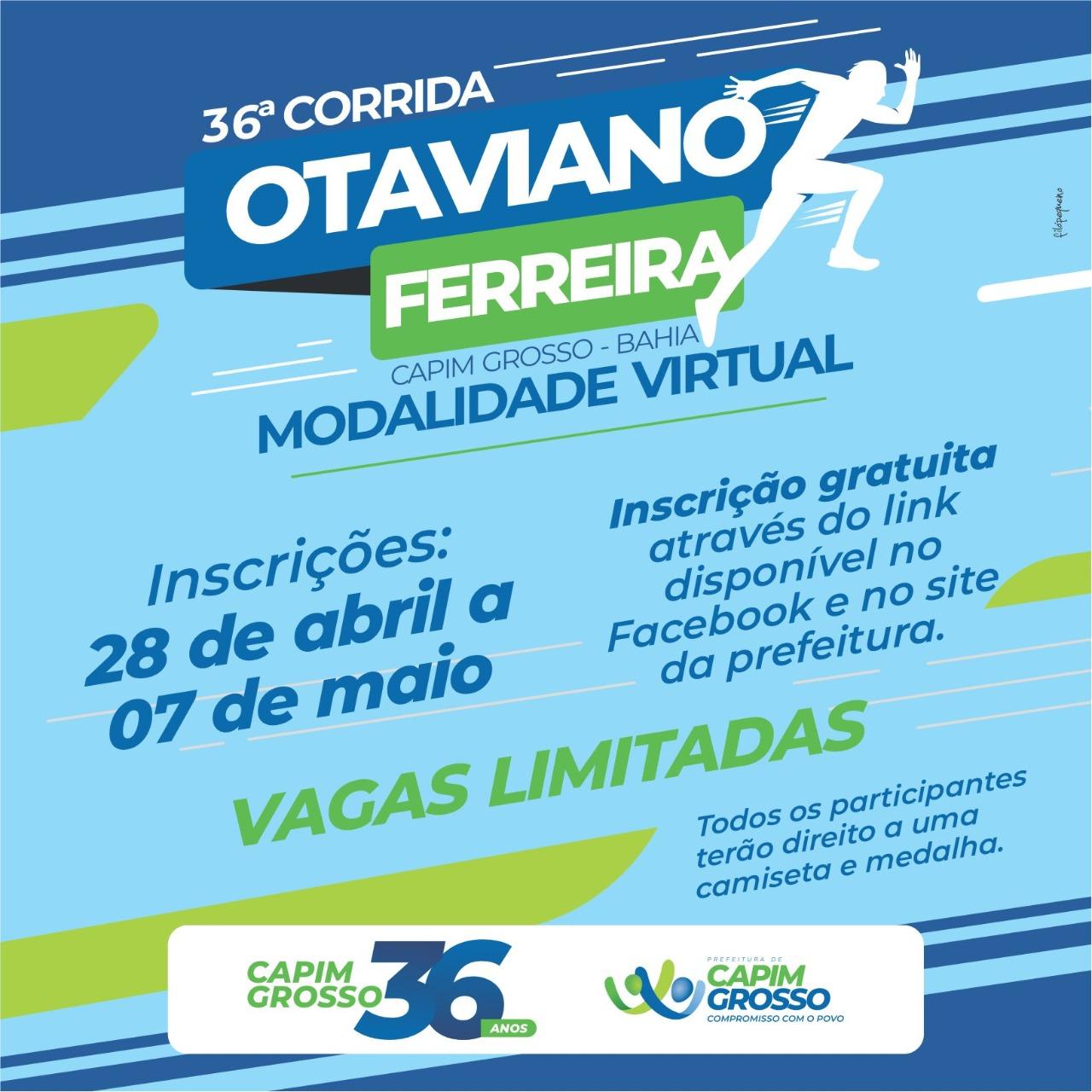 36ª Corrida Otaviano Ferreira